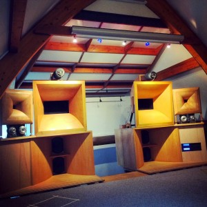 Jacques Ledauphin stereo six way active set-up
